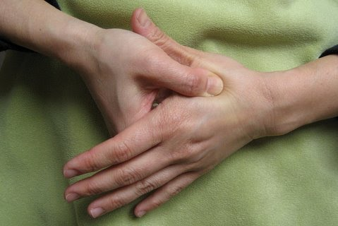 Soft part of hand